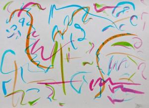 musikausmeinemkopf Partiturbild Tupaia 14,5x 11 cm