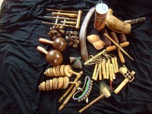 Klanginstrumente können Geschichten erzählen