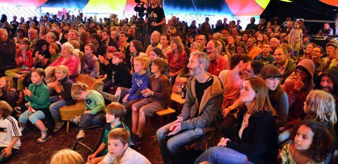 Beim Sängertreffen im Parlatent/ Sphinxtfest Heggelbach